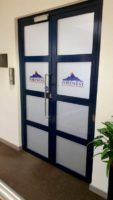 Portwest Office Doors Frosting