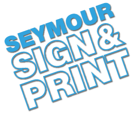 Seymour Sign and Print Logo