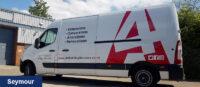 Vauxhall Movan Van Branding